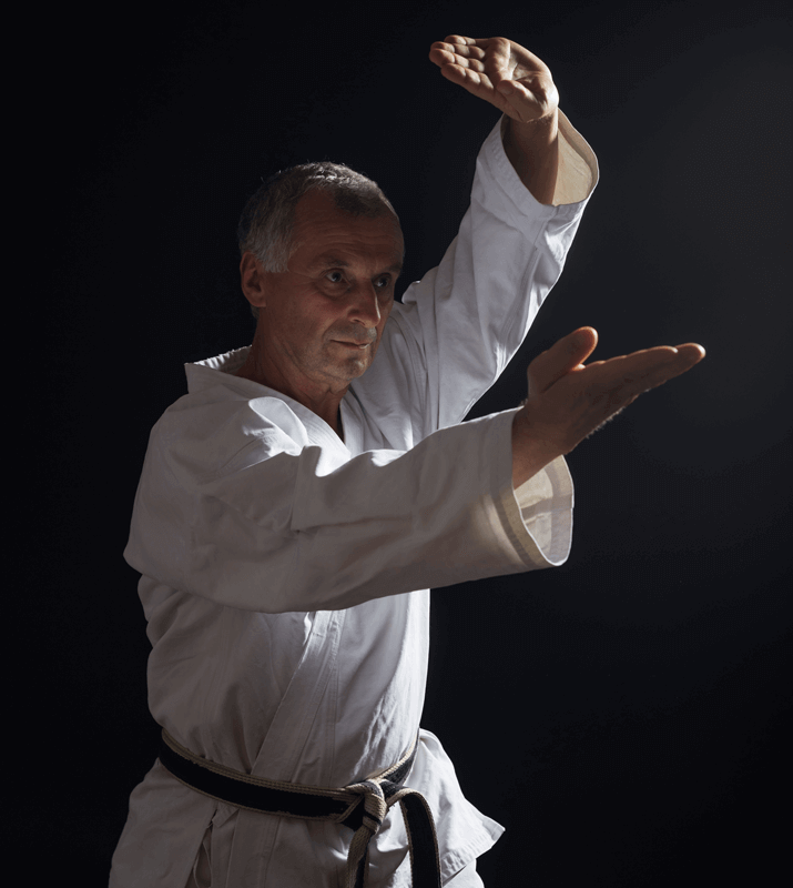 Martial Arts Lessons for Adults in North Richland Hills TX - Older Man