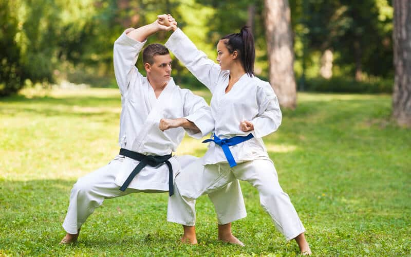 Martial Arts Lessons for Adults in North Richland Hills TX - Outside Martial Arts Training