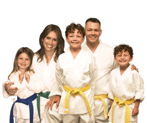 Martial Arts Lessons for Families in North Richland Hills TX - Group Family for Martial Arts Footer Banner