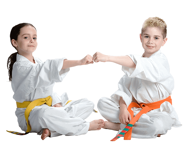 Martial Arts Lessons for Kids in North Richland Hills TX - Kids Greeting Happy Footer Banner