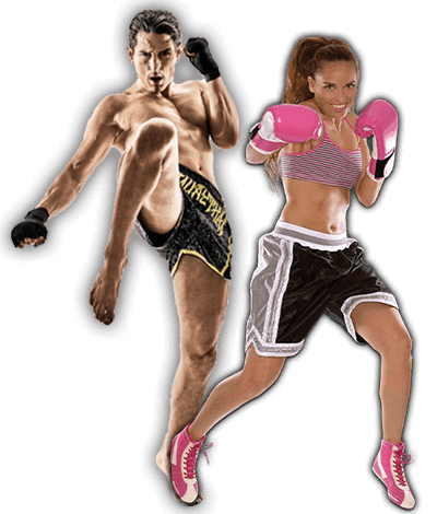 Fitness Kickboxing Lessons for Adults in North Richland Hills TX - Kickboxing Men and Women Banner Page